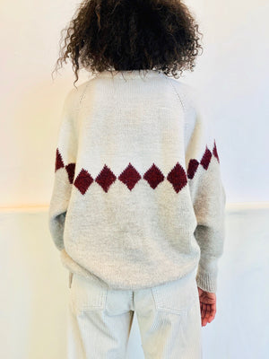 Vintage Diamond Dust Sweater