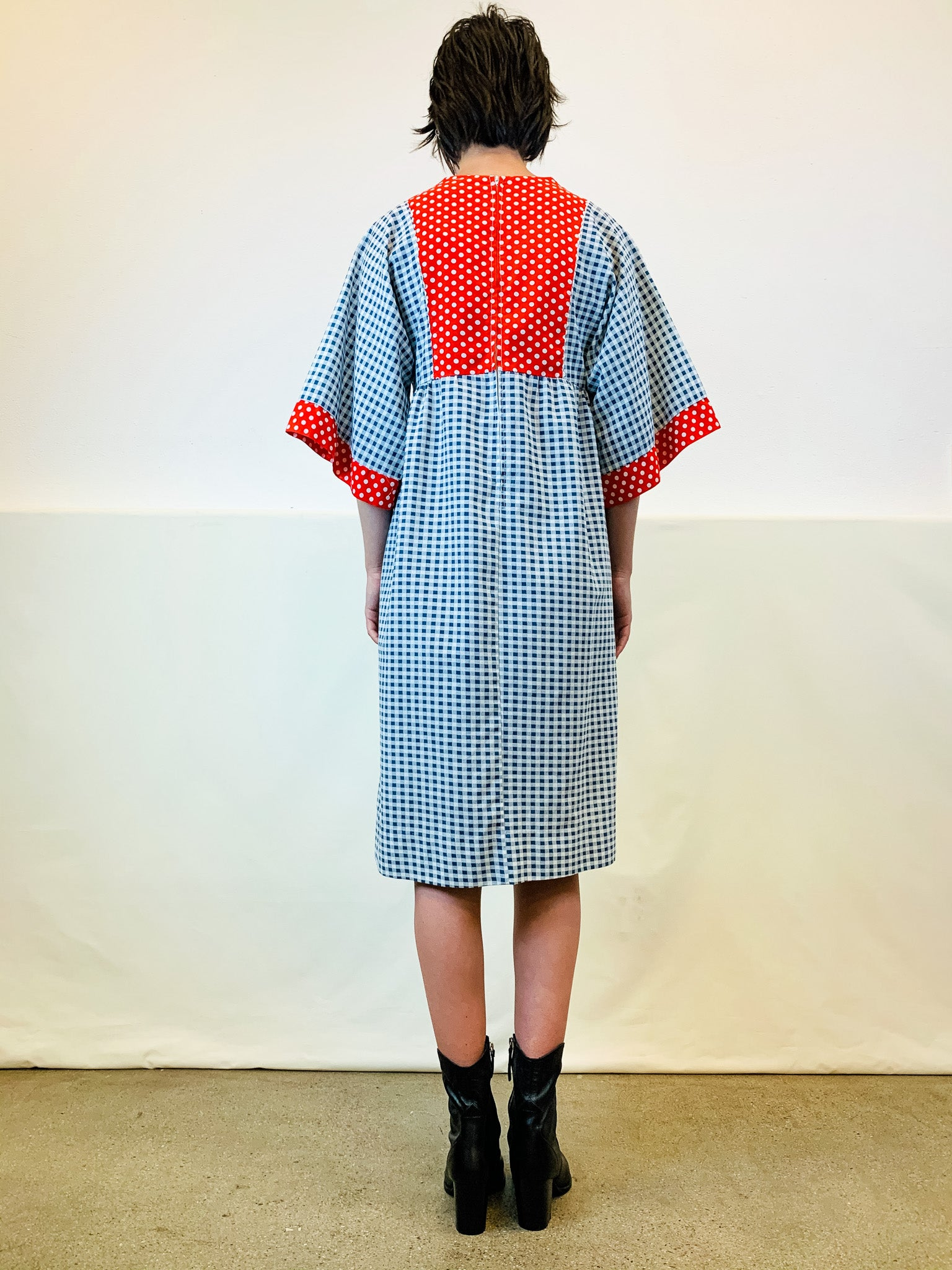 Vintage Spotty Dotty Dress
