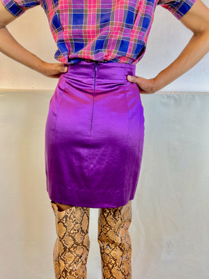 Vintage Late One Night Skirt