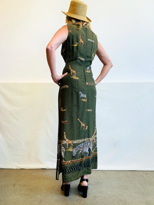 Vintage Safari Dress