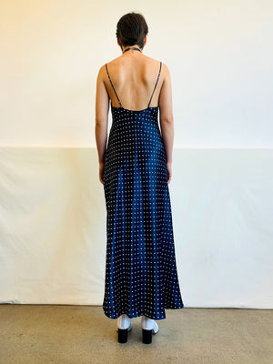 Vintage Valentino Dot Slip Dress