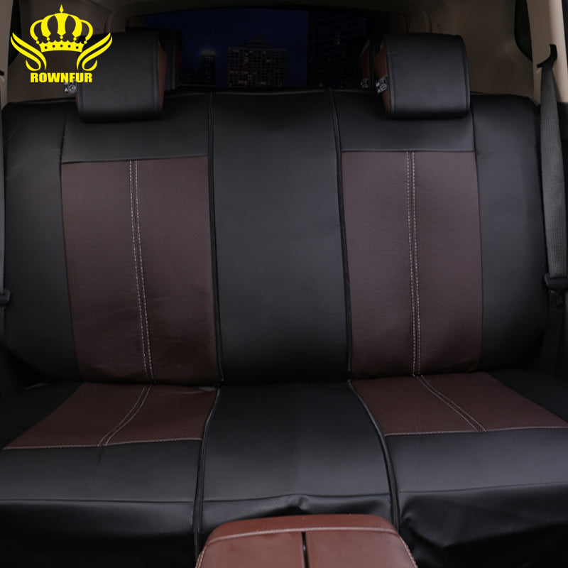 2018 New Luxury PU Leather Auto Universal Car Seat Covers