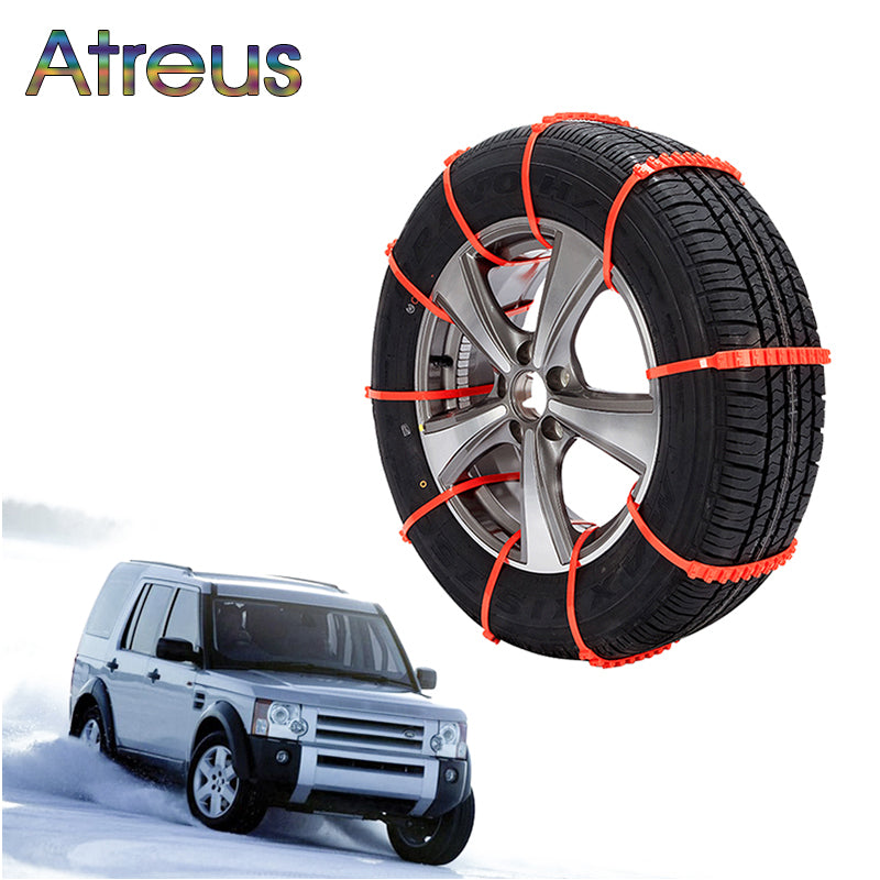 Car Tires Anti-skid Snow Chains For Car, SUV and Trucks