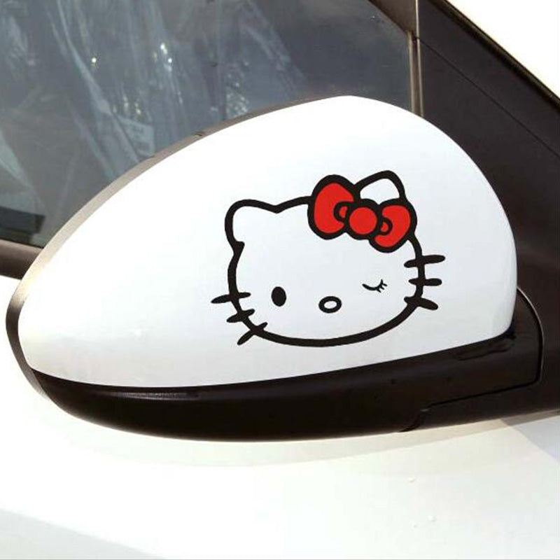High Quality Car Sticker Kitty Cat Window Decal