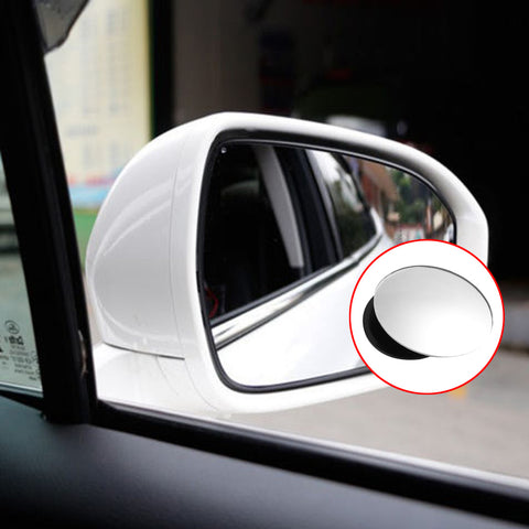 Car Rear view Convex Mirror 360 Degrees Rotating Wide Angle
