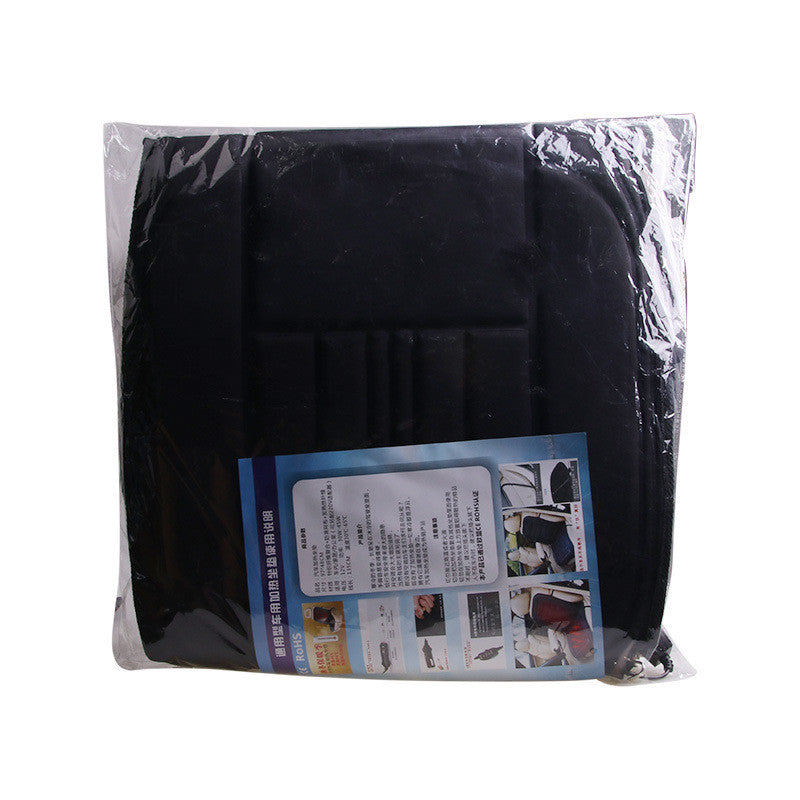 12V Cigarette Lighter Autumn Winter Heated Car Seat Cushion Cover