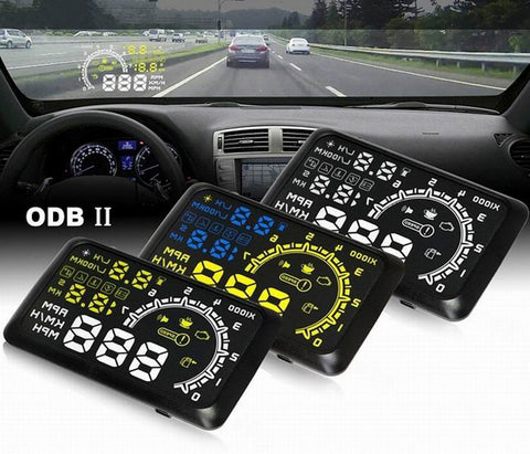 HUD Head Up Display Speeding Warning System and other nice features
