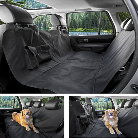 Pet Lover Car Seat Covers Oxford Waterproof Back Bench Seat Car Interior