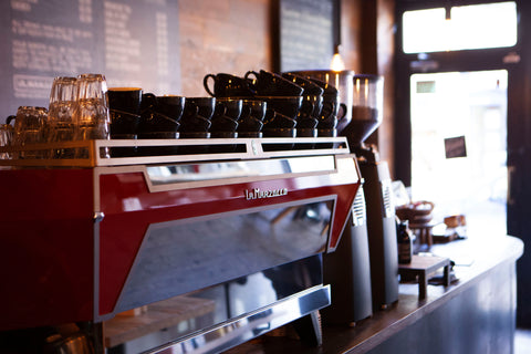 La Marzocco, Red, Coffee Machine, Coffee, Cafe