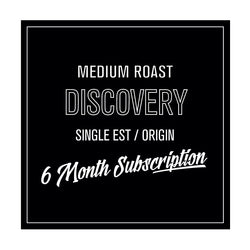 Coffee Discovery Subscription