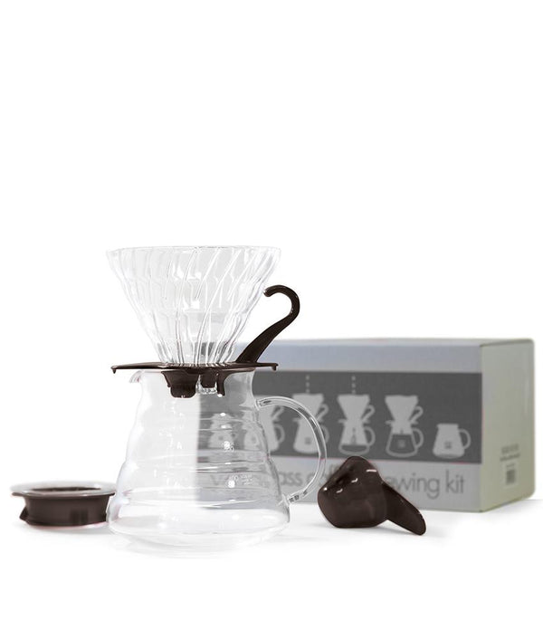 Hario V60 02 Glass Pour Over Gift Box Kit