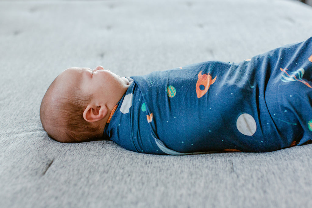 Outer Space Swaddle Blanket