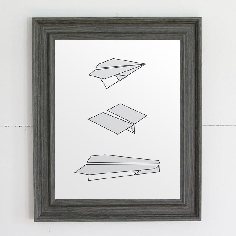 Paper Airplanes Print