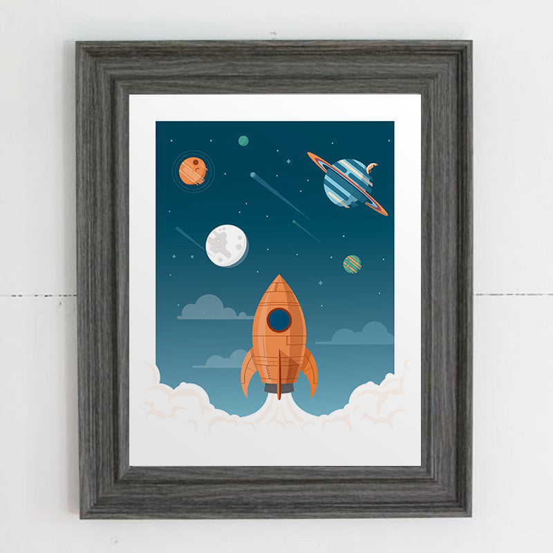 Outer Space Print