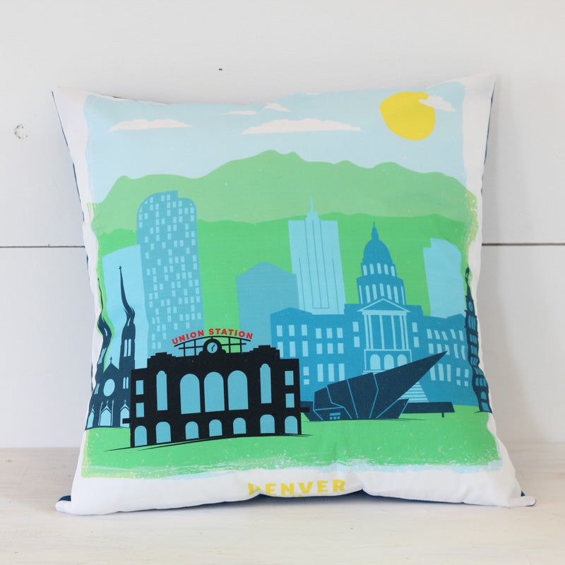 Denver Pillow Cover