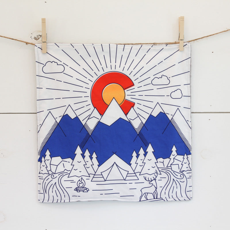 Colorado Flag Security Blanket