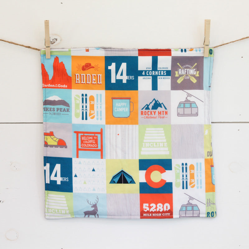 Colorado Patchwork Security Blanket