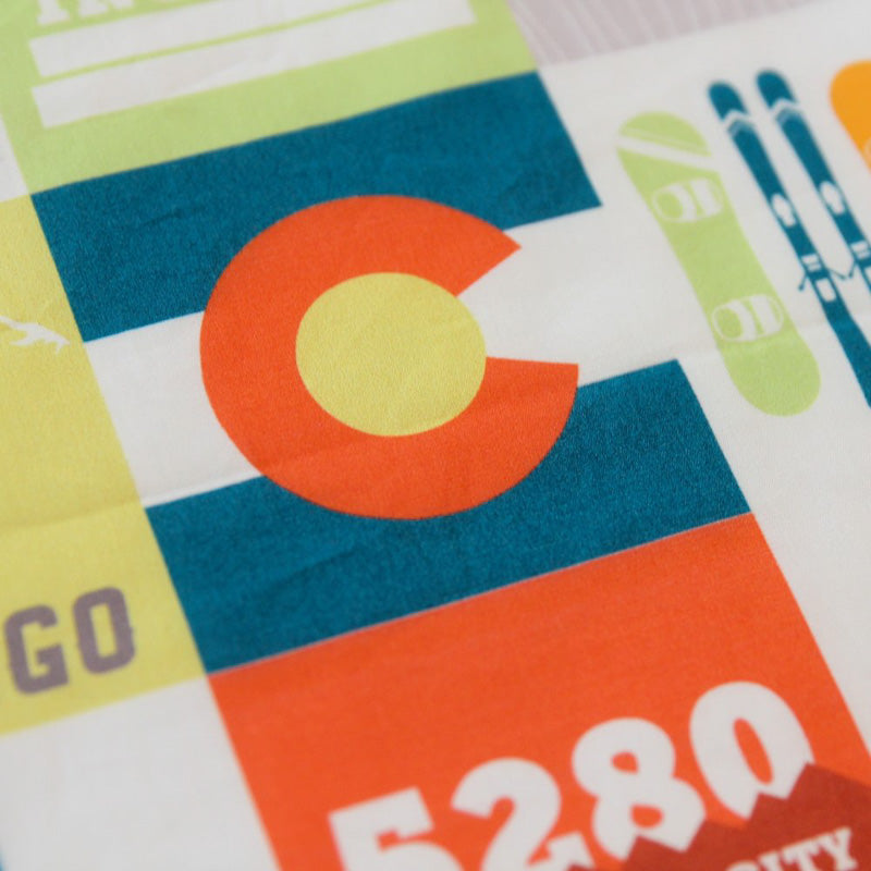 Colorado Patchwork Cuddle Blanket