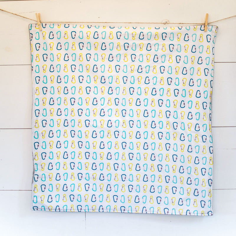 Carabiners Cuddle Blanket