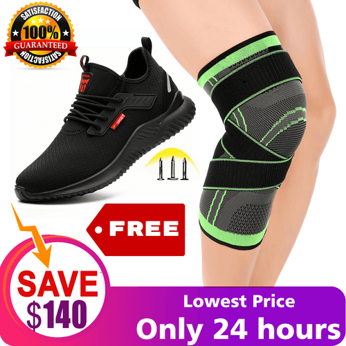 Knee Support Brace - Premium Recovery & Compression Sleeve For Meniscus Tear, ACL, MCL Running & Arthritis - Best Neoprene Stabilizer Wrap for Crossfit, Squats & Workouts - For Men & Women - Pistong.com - Online Shopping for You