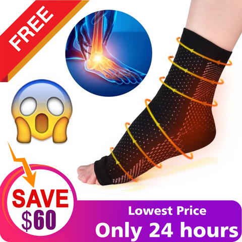 Plantar Fasciitis Compression Sleeves - Better Than Night Splint Socks, Shoe, Insoles, Inserts & Orthotics for Foot, Ankle Pain Relief for Men, Women, Nurses, Maternity, Pregnancy, Running & Heel Spur - Pistong.com - Online Shopping for You