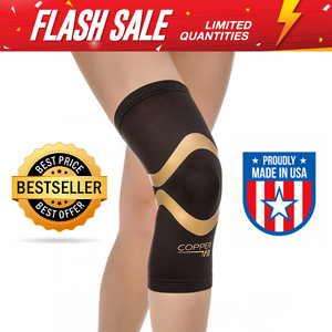 Copper Fit Pro Series Compression Knee Sleeve,Packaging may Vary - Pistong.com - Online Shopping for You