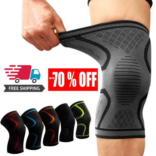 Knee Brace Support – Best Compression Sleeve for Men & Women for Pain Relief – Superior Knee Braces for Meniscus Tear & Arthritis, ACL, LCL, MCL, Running, Sports Exercise, Injury Recovery - Please Refer to The Sizing Chart - Pistong.com - Online Shopping for You