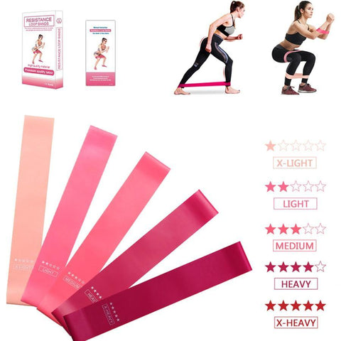 Stretching Elastic Band Fitness Equipment Exercise Resistance Loop Bands Latex Tube Yoga Rubber Tube Gym Resistance Rope Rubber - Pistong.com - Online Shopping for You