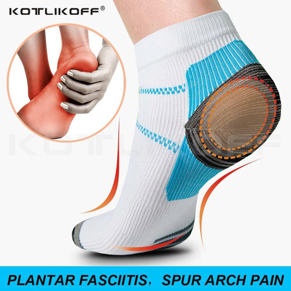 Ankle Brace Compression Support Sleeve (2 Pair) - BEST Ankle Compression Socks for Plantar Fasciitis, Arch Support, Foot & Ankle Swelling, Achilles Tendon, Joint Pain, Injury Recovery, Heel Spurs - Pistong.com - Online Shopping for You