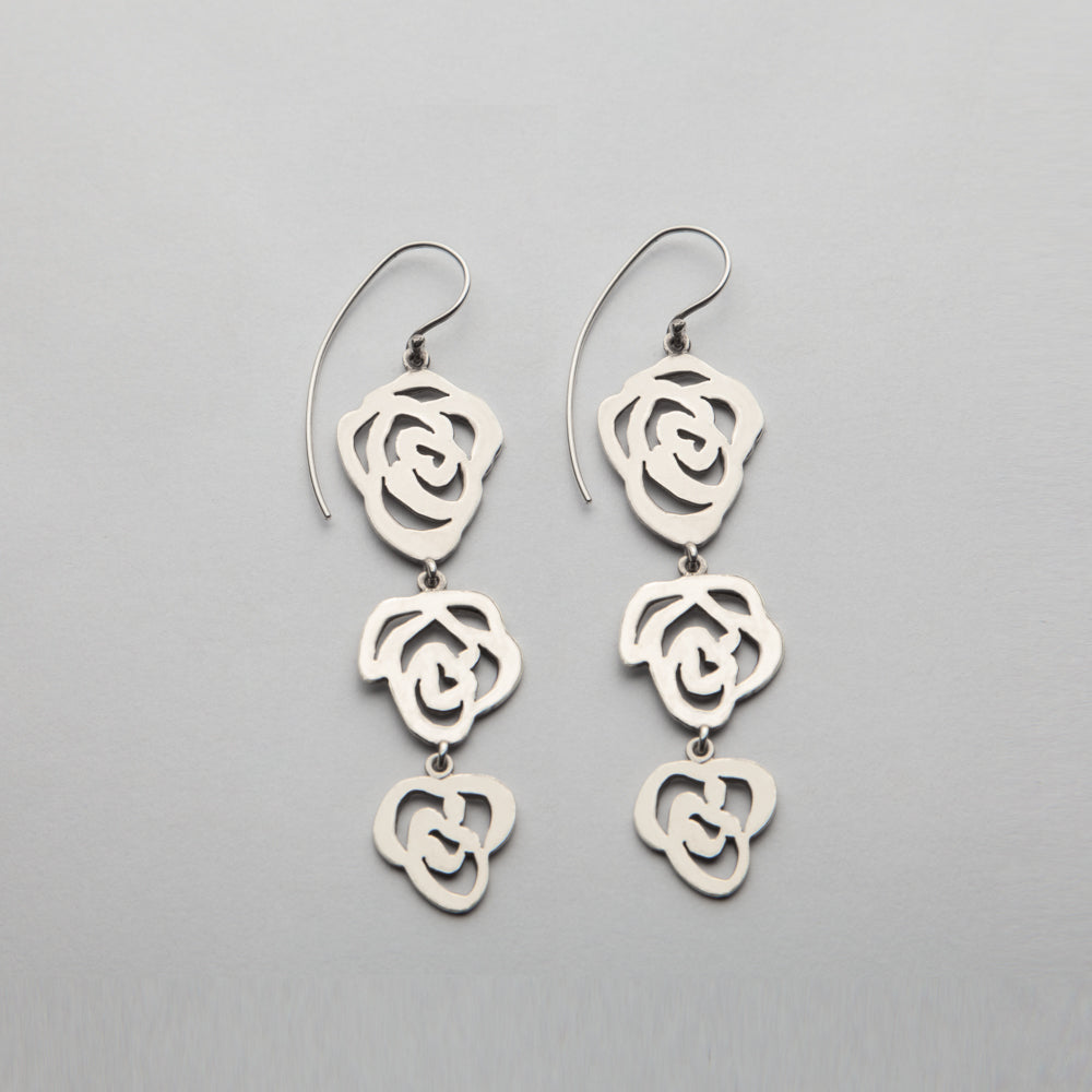 Rose of Sharon, Earrings 06