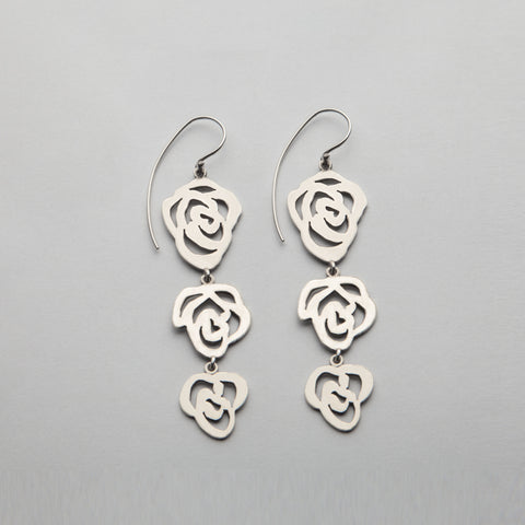 Earrings, ROS-E06