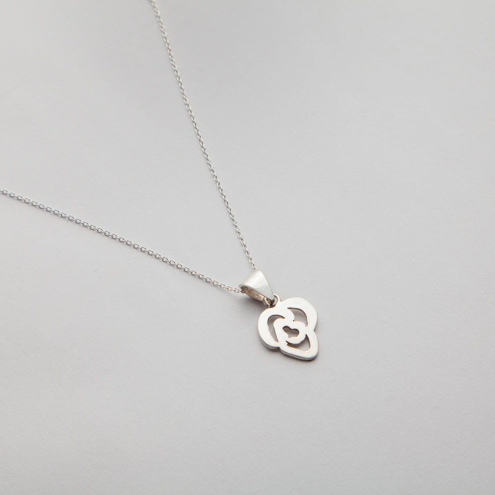 Rose of Sharon, Necklace 01