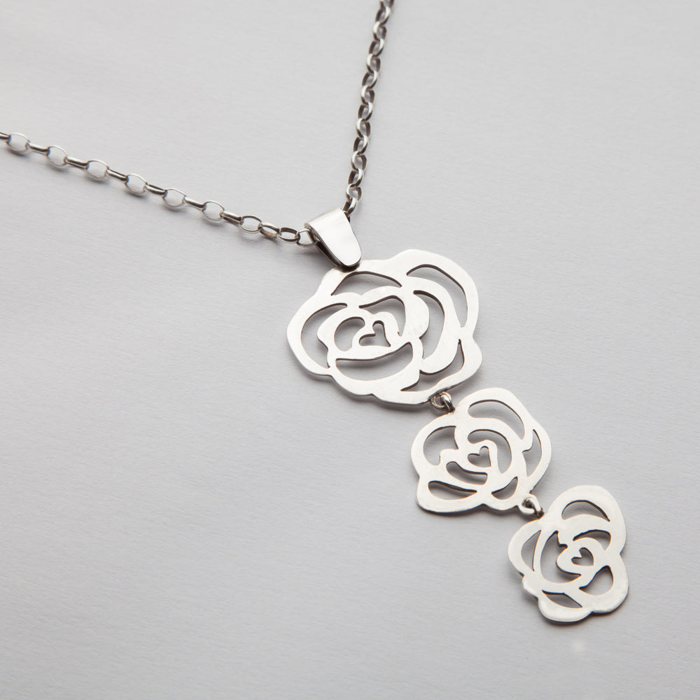 Rose of Sharon, Necklace 03