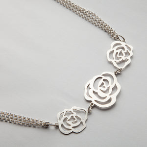 Rose of Sharon, Necklace 04