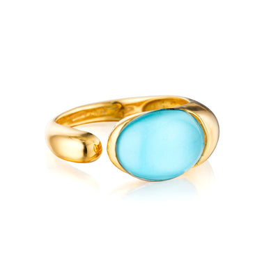 GOCCE COLLECTION RING TURQUOISE