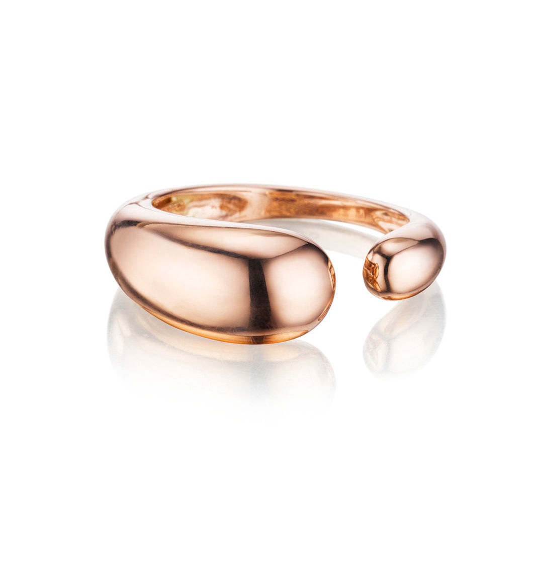 GOCCE  COLLECTION  RING    - 18KT ROSE GOLD