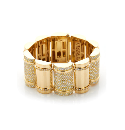 THE BULLET COLLECTION GOLD BRACELET