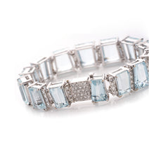 Load image into Gallery viewer, AQUAMARINE BRACELET