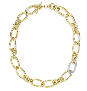 CONTESSA COLLECTION GOLD AND DIAMONDS NECKLACE