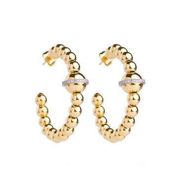 BARBARELLA COLLECTION 18KT GOLD EARRINGS