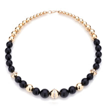 Load image into Gallery viewer, BARBARELLA COLLECTION NECKLACE - ONYX