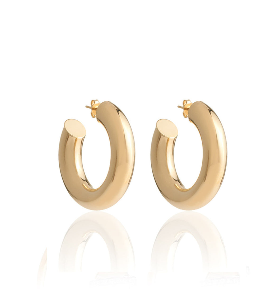 BARBARELLA COLLECTION 18KT GOLD EARRINGS - SMALL