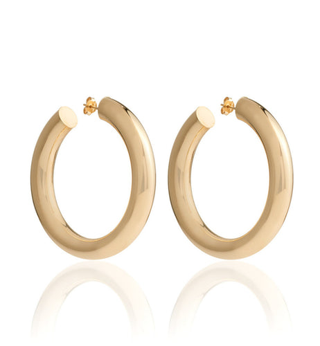 BARBARELLA COLLECTION 18KT GOLD EARRINGS - MEDIUM