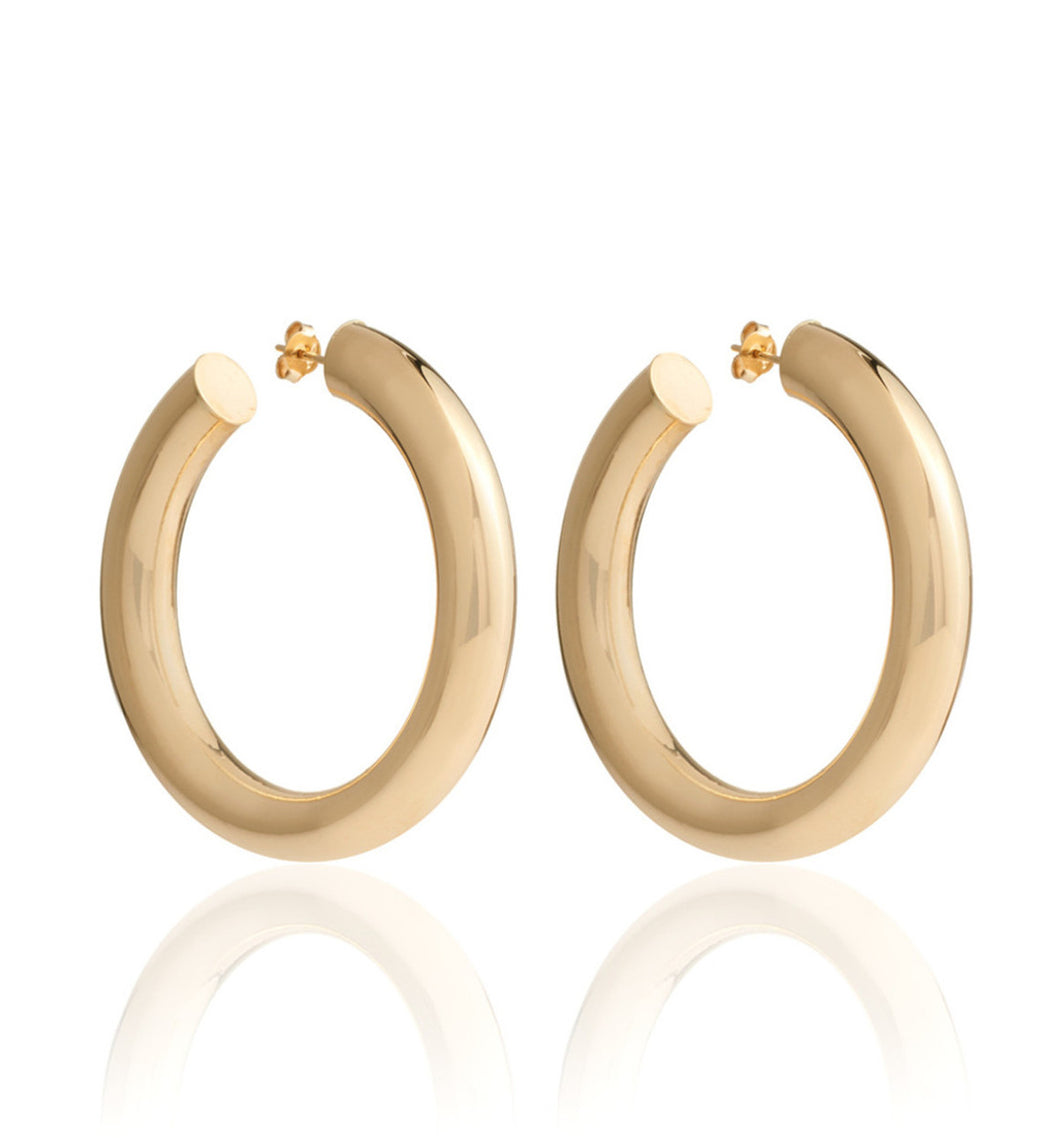 BARBARELLA COLLECTION 18KT GOLD EARRINGS - EX-MEDIUM