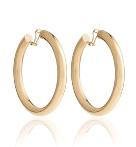 BARBARELLA COLLECTION GOLD EARRINGS - EX-LARGE