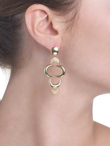 LUNETTE COLLECTION GOLD EARRINGS