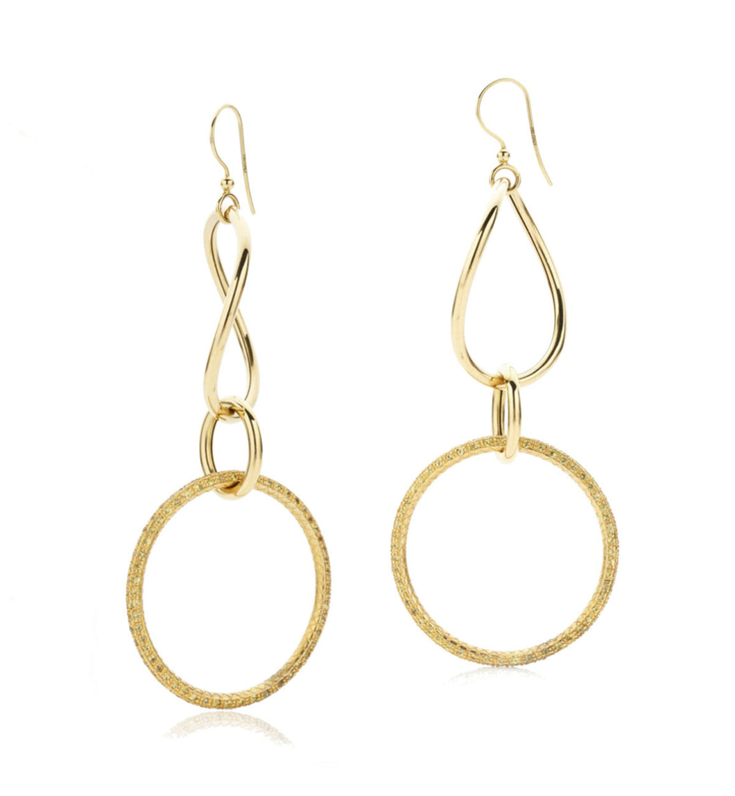 STELLA COLLECTION GOLD EARRINGS