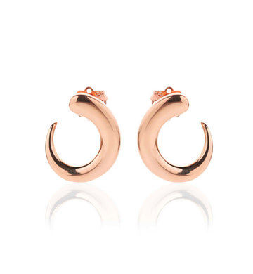 GOCCIOLINE COLLECTION EARRINGS - 18KT ROSE GOLD