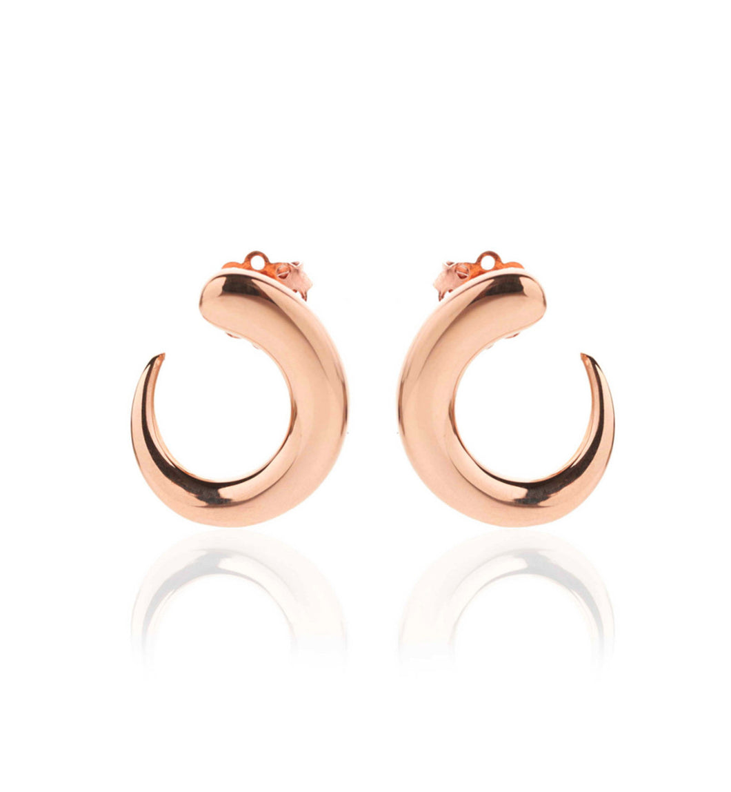 GOCCIOLINE COLLECTION EARRINGS - ROSE GOLD