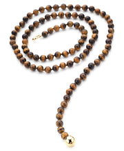Load image into Gallery viewer, TUCA TUCA COLLECTION TIGER EYE NECKLACE